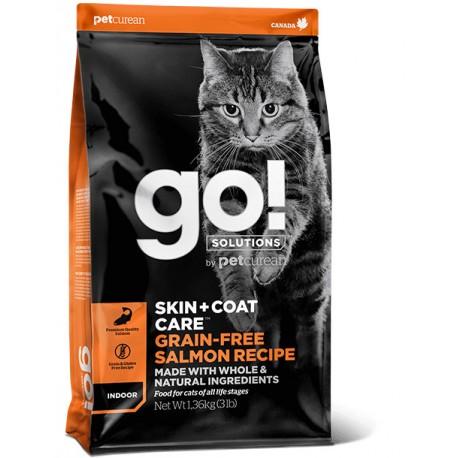 GO! SKIN + COAT Grain Free Salmon Cat