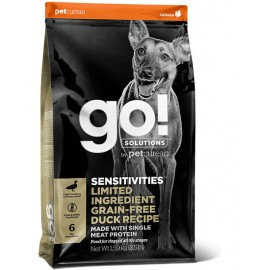 GO! SENSITIVITIES Limited Ingredient Grain Free Duck Dog