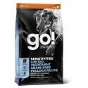 GO! SENSITIVITIES Limited Ingredient Grain Free Pollock Dogs