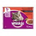 Whiskas Seleccion Carne 4x100g (13uds)