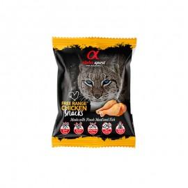 Alpha Spirit Snacks de Ave de corral gato (24 bolsasx50g)