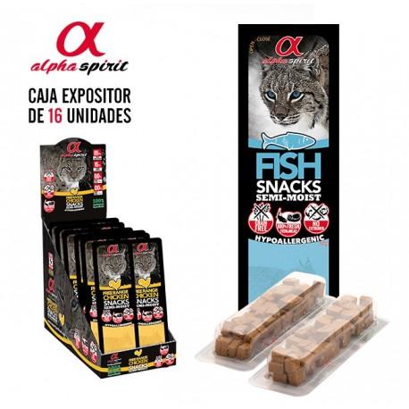 Alpha Spirit Snack Tacos Gato Pescado 35Gr (x16)