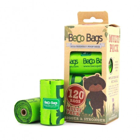 BecoBags 8 rollosx15 bolsas (120 total)