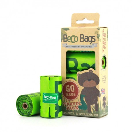 BecoBags 4 rollosx15 bolsas (60 total)