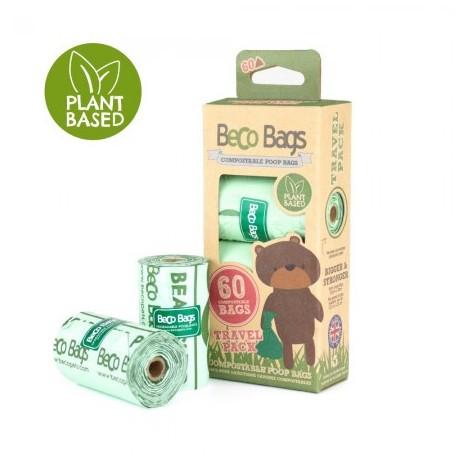 BecoBags compostable 4 rollosx15 bolsas