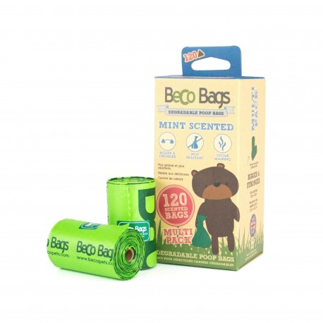 BecoBags Mint 8 rollosx15 bolsas (120 total)