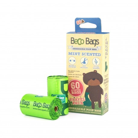 BecoBags Mint 4 rollosx15 bolsas (60 total)