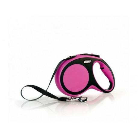 Flexi New Comfort Cinta S 5M Rosa
