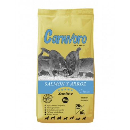 Carnívoro Sensitive salmón arroz