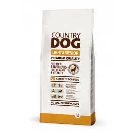 Country Dog Food Light & Senior