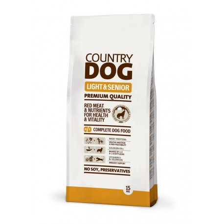 Country Dog Food Light & Senior
