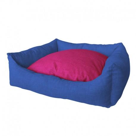 Cuna Azul Marino Rosa Mod.39