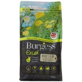 Burgess Excel Conejo adult hierbas naturales