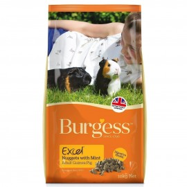 Burgess Excel Cobaya con menta