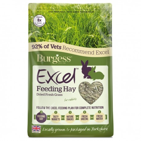 Burgess Excel heno pasto natural