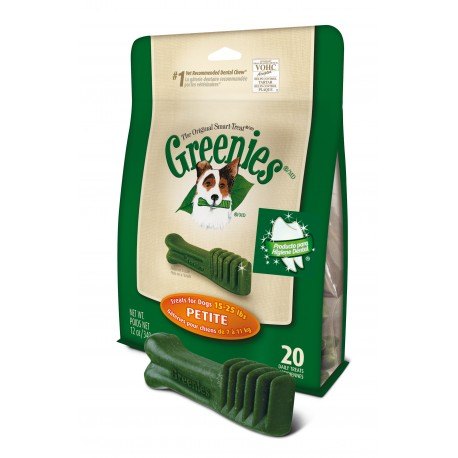Greenies Petite Bolsa 20 uds 340g