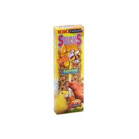 Kiki Sticks Canarios Con Miel Paquete 2 Uds.