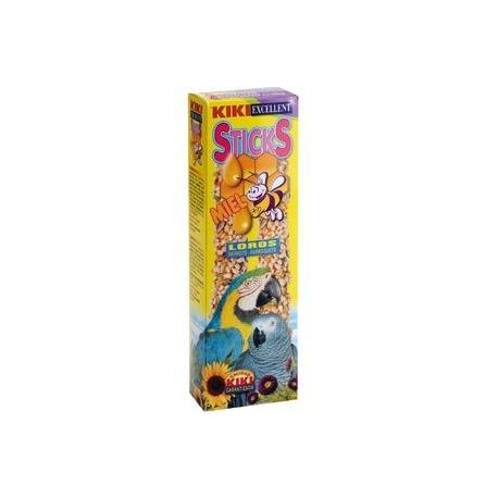 Kiki Sticks Loros Con Miel Paquete 2 Uds.