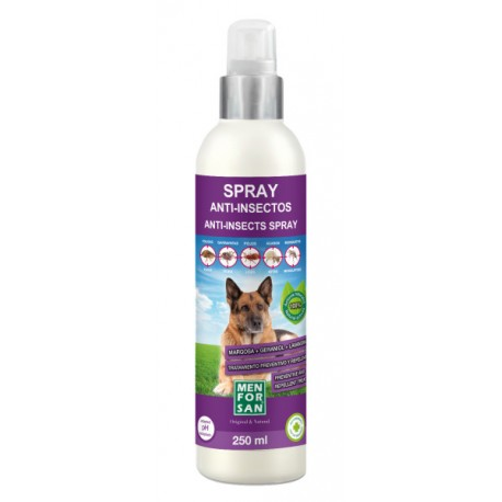 Spray Cat Antiinsectos Margosa,Geranil,Lavan