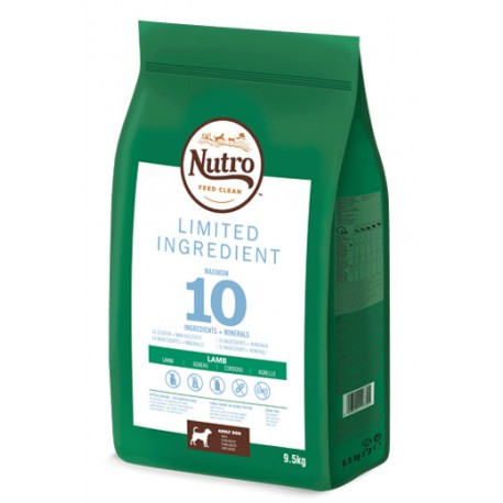 Nutro Limit ingredient adult med cordero 1,4k