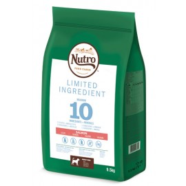 Nutro Limit ingredient adult med salmón 9,5k
