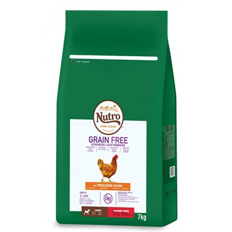 Nutro Grain free adult mini pollo