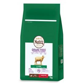 Nutro Grain free adult mini cordero