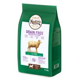Nutro Grain free adult med cordero