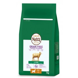 Nutro Grain free junior rz med cordero