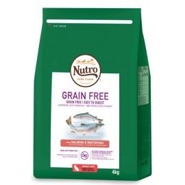 Nutro Grain Free gato adult salmón
