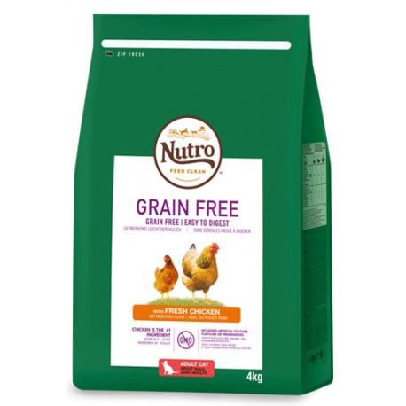 Nutro Grain Free gato adult pollo