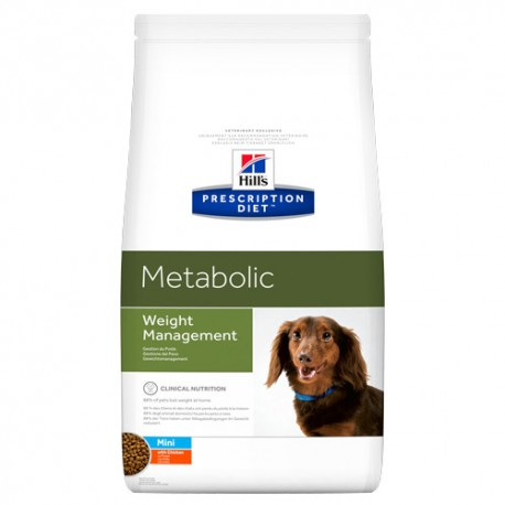 Hills diet Canine Mini Metabolic