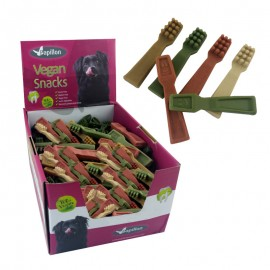 Vegan snack cepillo dientes display