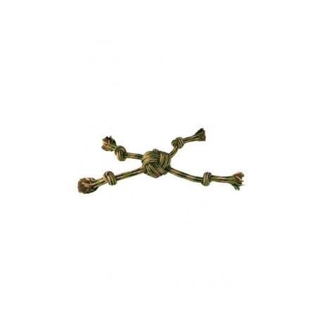 Camuflaje cuerda estrella con 4 nudos,